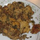 Ibby's Pumpkin Mushroom Stuffing - Pumpkin bread makes this unique stuffing sweet, and fresh rosemary, tarragon, and chives season it to perfection.