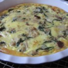 Cindy's Tuna, Spinach, and Bacon Quiche - This is a delicious, subtly blended melange of flavors. This quiche is filling, satisfying, and oh-so-good!