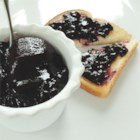 Blueberry Spread - Fresh blueberry jam is a real treat.  Spread it on your favorite baked good, fresh from the oven.