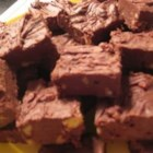 German Chocolate Fudge - This rich chocolate fudge recipe is as easy to make as it is fattening!