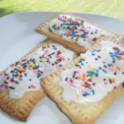 Home Made Top Tarts! - It's so fun and easy to make your own toaster pastries at home, and you can fill them with any flavor of jam for a sweet breakfast treat.