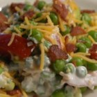 Seven Layer Mixed Up Salad - This recipe is a quick and easy alternative to the traditional 7 layer salad. Great for summer get togethers.