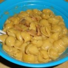 Marsha's Garoni - This is a mac and cheese - bologna mixture that my kids love!