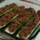 Photo of: Stuffed Zucchini with Chicken Sausage - Recipe of the Day