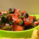 Maine Wild Blueberry Salsa - An antioxidant powerhouse that tastes incredible. The contrast between the sweet wild blueberries and tartness of the onions, peppers and tomatoes, makes this a great dish on its own with tortilla chips or served alongside beef or chicken.
