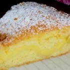 Basque Cake - A Basque specialty that has pastry cream encased in a light shortdough pastry.