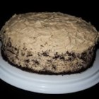 Coffee Cake. Literally. - Not a traditional coffee cake, but a nice layer cake that's flavored with -- yep, you guessed it -- coffee. There's a light, fluffy coffee frosting too. Make one for the coffee lover in your life.