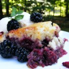 Baron's Blackberry Cobbler - A vanilla batter brings out the taste of summertime in this cobbler recipe.