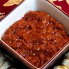 Tunisian Harissa - This is a popular Tunisian condiment. It's a home made pepper paste that is sure to add an extra kick to just about anything and it is widely use in Tunisian cuisine.  I add it to anything I want to spice up; in my home we use this just about everyday.
