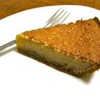 Caramel Sponge Pie - Just 6 ingredients are needed to make this light, scrumptious pie bursting with rich caramel flavor.