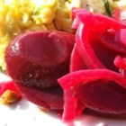 Spiced Pickled Beets - Sliced beets are marinated with cider vinegar, sugar, spices and onion to create this fresh tasting and delicious side salad.