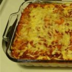 Passover Matzo Lasagna - You won't miss the lasagna noodles in this quick to assemble dairy Passover dish. Whole Matzo sheets are used in place of the noodles.