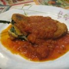 Real Chiles Rellenos - Chiles rellenos, that classic Mexican dish of cheese-stuffed fried peppers, is made from scratch in this recipe. Make the stuffed peppers ahead of time and freeze; then take out and fry another day to make your dinner preparation easier.