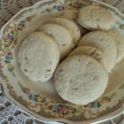 Abernathy Biscuits - These rolled cookies are flavored with lemon zest and caraway seeds.