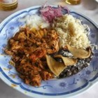 Cochinita Pibil - This is my favorite Mexican pork dish that is always a hit.  Can be toned down with less or no peppers and still tastes awesome.  Quite easy to prepare too!  Your whole family will love this famous Mexican dish!