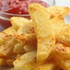 Tail Burner Firehouse French Fries - A fiery hot French fries recipe designed by firefighters! Play with the amount of seasonings to best suit your taste and tolerance for heat!