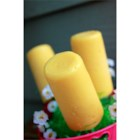 'King Of Rock' Frozen Pudding Pops - A frozen dessert fit for a king or your kids, this is a banana and peanut butter frozen pudding pop.