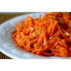 Three Ingredient Carrot Slaw - Pack a serving of this cheerful salad in a small resealable container for an easy lunch box veggie side!