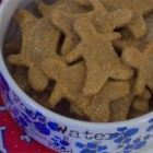 Doggie Treats I - These Doggie Treats are made with whole wheat flour and Cheddar cheese. Sure to turn any dog into your best friend.