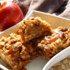 Apple Butterscotch Bars - Apple jelly and butterscotch chips unite in this bar cookie recipe.