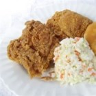 Mamaw's Southern Buttermilk Chicken - Buttermilk-marinated chicken pieces are coated in seasoned flour, fried to a crispy golden brown, and then finished in the oven.