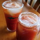 Joe's Famous Michelada - Mexicans have been enjoying a cold beer mixed with tomato juice and seasonings for years. Here's a yummy variant made with tomato and clam juice cocktail, lemon juice, and a dash of hot sauce, meant to cool you off on a hot day.