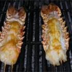 Orange-Scented Grilled Lobster Tails - Orange zest and aromatic bitters lend an intriguing flavor to these grilled tails.