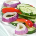 'Dressed' Cucumber - This simple cucumber salad recipe comes from Barbados.