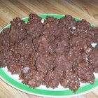 PMS Cookies - A different version of Chinese chews. A no bake cookie that is easy to make and delicious!