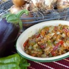 Magaricz - Chopped eggplant, red and green bell peppers, onions, and carrots, slowly cooked on the stovetop in olive oil will make your kitchen smell like heaven. A wonderful dip for rye--or your favorite--bread or crackers.