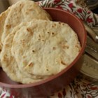 Homemade Flour Tortillas - This homemade flour tortilla recipe produces warm and soft tortillas perfect for soft tacos or burritos.