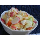 Blue Moon Salad - Once in a blue moon, we like to make this delicious salad.  The combination of fruit, cabbage, and blue cheese make this salad a satisfying and memorable one.