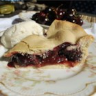 Sweet Washington Cherry Pie  - Make this richly flavored sweet cherry pie when the fresh cherries from eastern Washington are in season.