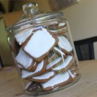 Aunt Sally Cookies - An amazing spice cookie with a rich gooey white frosting made from marshmallows.