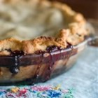 Apple-Berry Pie - A wonderful pie brimming with apples and blackberries.