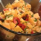 Orange and Onion Salad - A tangy, colorful dish. Use Kalamata, Nicoise or Alfonso olives.