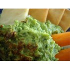 Avocado and Edamame Dip - This dip is perfect with tortilla chips or as a spread for a sandwich.
