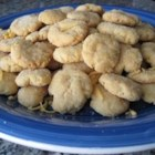 Cheddar Pennies - Delicious cheddar penny cookies!!! My mother and I have made these for years and they are just as good as when I was young.