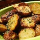 Roasted New Red Potatoes - These are roasted potatoes at their best - plain and simple. Red potatoes are tossed with olive oil, and salt and pepper, and then roasted to perfection.
