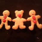 Gingerbread Bears - These scrumptious little cuties taste great decorated with icing or just left plain.  For a darker, spicier cookie, use molasses instead of corn syrup.