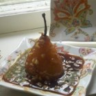 French Orange Poached Pears (Poire Avec Orange)