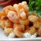 Chipotle Shrimp - This is a quick and easy dish of shrimp sauteed in a spicy sauce of butter, garlic, Worcestershire sauce, red wine, and chipotle chiles. Serve over steamed rice.