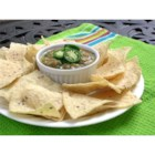 Jalapeno Salsa - This medium-hot green salsa features fresh jalapeno peppers and cilantro. Try it on eggs, as a marinade, or with tortilla chips.