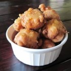 Ham and Corn Beignets - Use more fresh corn if the ears are small. Canned white corn, drained, may be used as a substitute for fresh corn. When placing the beignet batter into the oil, a 1 or 2 ounce ice cream scoop may be helpful!