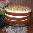Sour Cream Banana Cake - This cake recipe came from Denmark with my Great Grandmother and Great Grandfather when they came over to the United States.