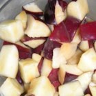 Caramelized Apple Bites - It's so easy to make these tasty apple bites, you'll probably want to increase the recipe so everyone can get their fill!