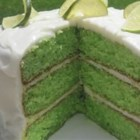Key Lime Cake III - This is a very moist cake. Very easy to make. If you like key lime, you will love this cake.
