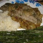 Baked Bluefish - This easy baked fish dish tastes delicious served over cooked rice, egg noodles, or on a tossed salad.