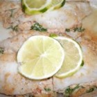 Stuffed Flounder - Baked flounder with crab stuffing. You may adjust this recipe to fit the size of your flounder.