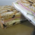 Ham and Pear Panini - This is a twist on an old classic -- ham and cheese. Adding a fresh cut pear gives the sandwich a nice, light sweetness that you won't forget.